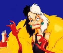 Cruella De Vil from 101 Dalmatians (1961)