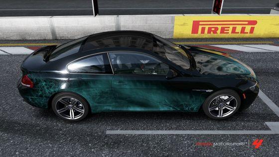2010 M6 쿠페, 쿠 페 디자인 Challenge