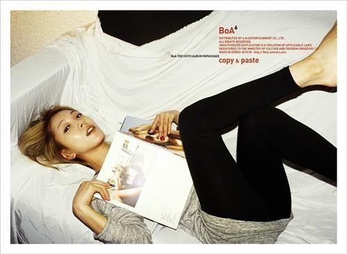 Copy & Paste Lyrics - BoA - Fanpop