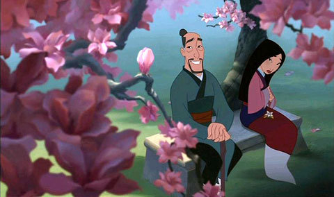 The Language Of Flowers Mulan Disney Princess Fanpop