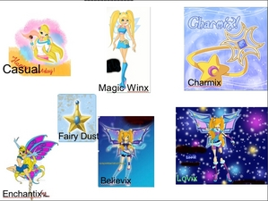 Some of Lilly's transformations!