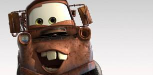 Mater as he is now as rusty brown.