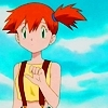 """I don't know why people ever thought Misty was hot o pretty. Just because she wears shorts and barely shows a bit of her stomach? Please. I like red hair now but I don't like Misty's hairstyle. Especially since her hair looks so choppy. Bleh. It looked"