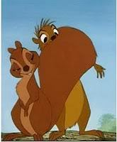 Arthur with the cute female squirrel. She's one of my favorito female animal characters.