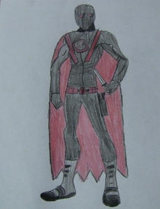Red Revenge in his costume.
