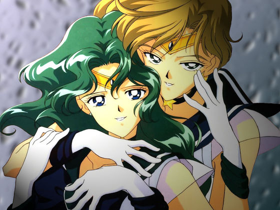 When dubbing Sailor Moon, DiC considered the idea of लेज़्बीयन too mature for little kids, hence why Sailor Neptune and Uranus are cousins in the dub, not lesbian प्रेमी like in the original japanese dub.