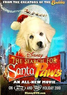 The buscar for Santa Paws