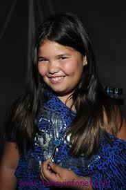 Madison De La Garza at age 9 (2011)