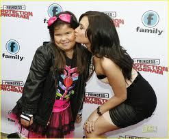 Madison with her Sister Demi Lovato