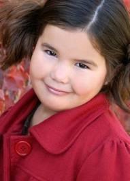 Little Maddie when she was 6