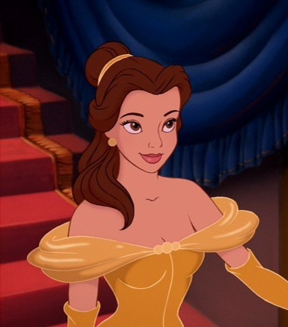 """Well the Beast ain't the beauty is he Beauty...I mean Belle."""