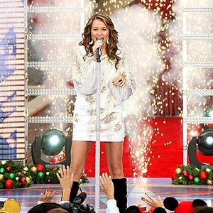 i dont want a lot for christmas there is just one thing i need i dont care about presents underneath the christmas tree i just want you for my own - Miley Cyrus Christmas