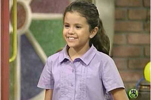 Selena Gomez 7-year-old!