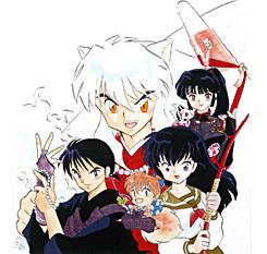 Main Characters: Miroku, Shippo, Kagome, Sango, Kirara and InuYasha.