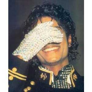 mj embarrased when he cant get the machine to work.. :) <3