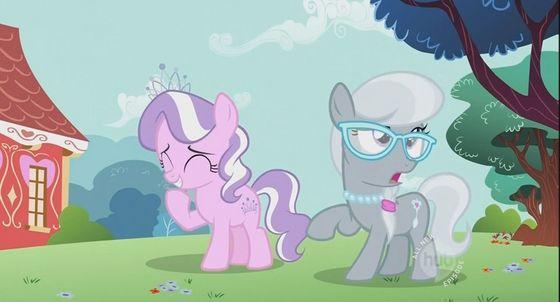 Diamond Tiara and Silver Spoon
