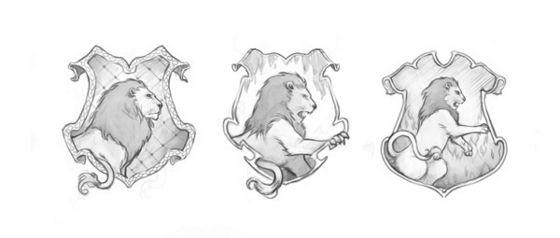 Gryffindor Sketch Series