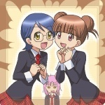 Wakana or Alex and Manami or Anna (they are really good friends)