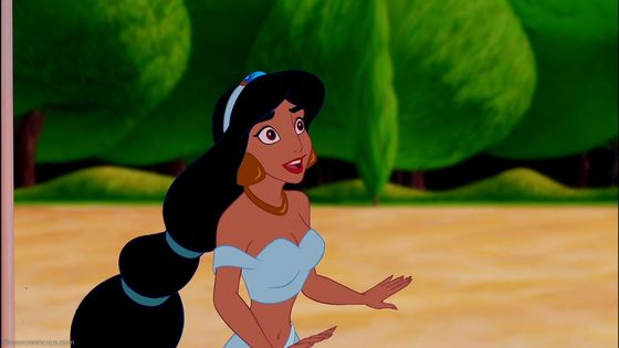 Amusing information Princess jasmine with short hair not the