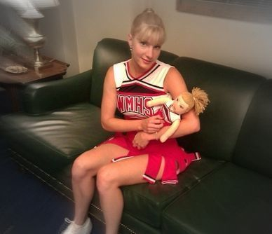 """Heather Morris (portrays Brittany on """"Glee"""")"""