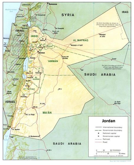 The Jordan Map