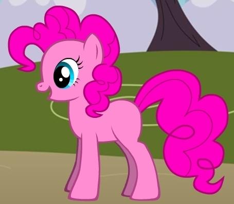 exact replica of Pinkie Pie