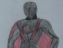 Red Revenge, Sam's alter ego.