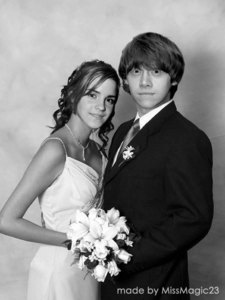 Ron and Hermione's Wedding Picture