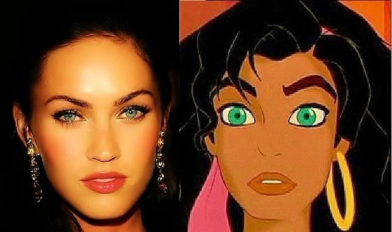 Megan Fox as Esmeralda