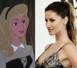 Gisele Bundchen as Aurora