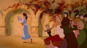 A beauty but a funny girl. That Belle