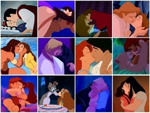Iconic Disney Kisses <3