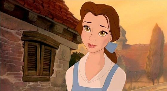 """""""A Beauty - but a funny girl, that Belle."""""""
