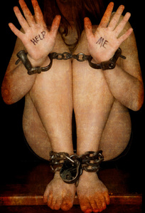 A photograph against human trafficking. fotografia por Royce DeGrie