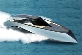 Obviously Quicksilver get's a racing speedboat!