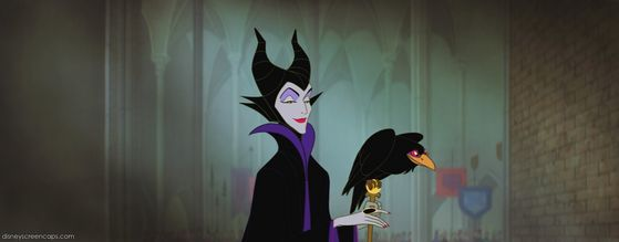 She talks wwaaaaaaaaay too much but if 灰姑娘 is the most epic princess, Maleficent is the most epic villain.