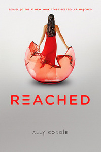 The cover of Reached.