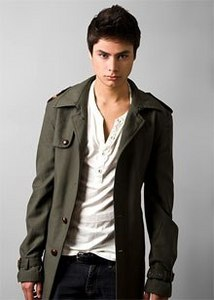 Kiowa Gordon looking very East Coast, perfect for upcoming film The Cabin At The Lake. Copyright Vanity Fair