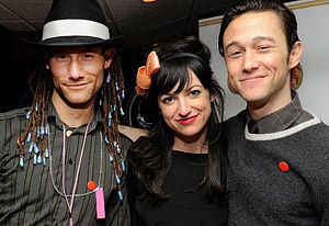 Photo of Joseph Gordon-Levitt & his  Brother  Daniel Gordon-Levitt