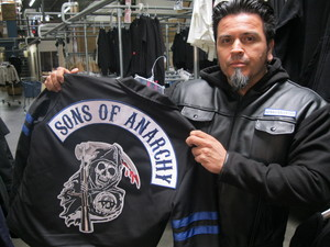Sons of Anarchy Jackets with Piston Owner Johnny Lucero