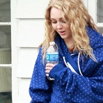 "AnnaSophia on set for ""The Carrie Diaries."""