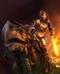 Alana and her dragon Twilight