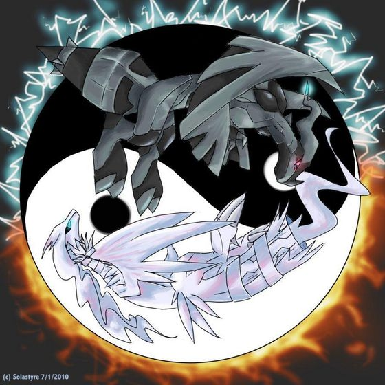 Reshiram and Zekrom