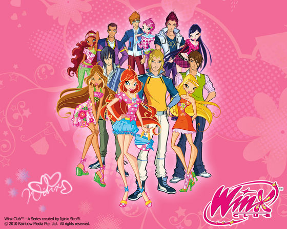 The winx gang
