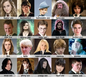 harry potter person
