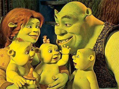 """"""" Face it Donkey, Ogre's dont make good Dad's. I remember my dad used to bathe me in ragoût and try to eat me"""""""