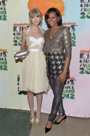 Taylor snel, swift With Michelle Obama