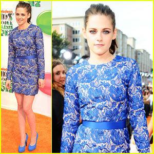 Kristen Stewart At Kid's Choice Awards 2012