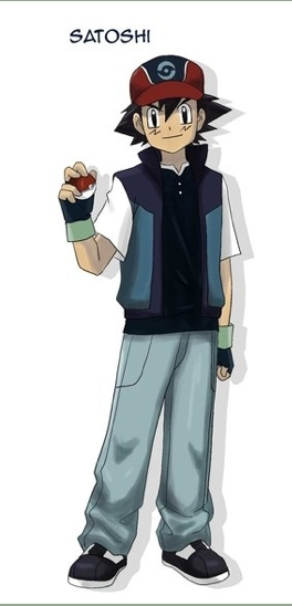 Ash's New Outfit in the Misanko Reigon!