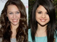 mileycycrus and selenagomze